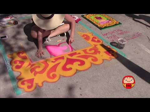 Chalk Walk Art Festival @ Historic Hyde Park Village - Tampa, Florida