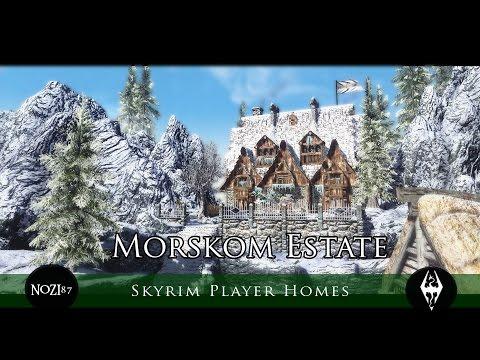 TES V - Skyrim Mods: Morskom Estate by Darkfox127 and Elianora