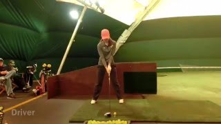 Ashley Kulka Golf Swing