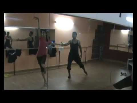Neelakshi and Jose Bollywood salsa 2012 iDance studio