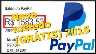 Como ganhar dinheiro sem sair de casa via Paypal (Novo Metodo)2016 / Setembro