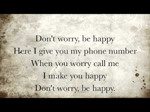 Bobby McFerrin – Don't Worry, Be Happy Lyrics | Genius Lyrics