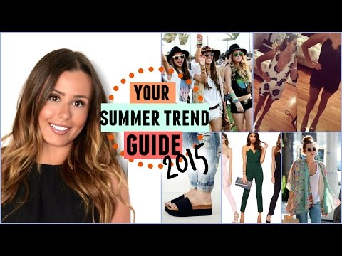 MY SUMMER FASHION 2015 TREND GUIDE!