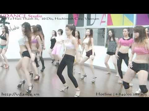 Sexy Dance căn bản - VDANCE Studio