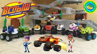 Вспыш и чудо машинки 3серия - Fisher price Blaze and the Monster Machines
