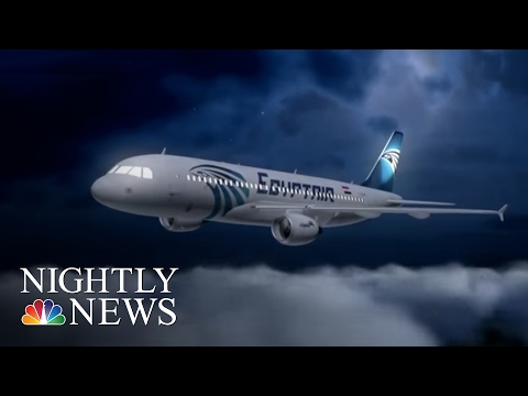 EgyptAir Flight Data Suggests Smoke Was Detected on Plane | NBC Nightly News