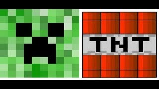 epic creep vs tnt [minecraft]