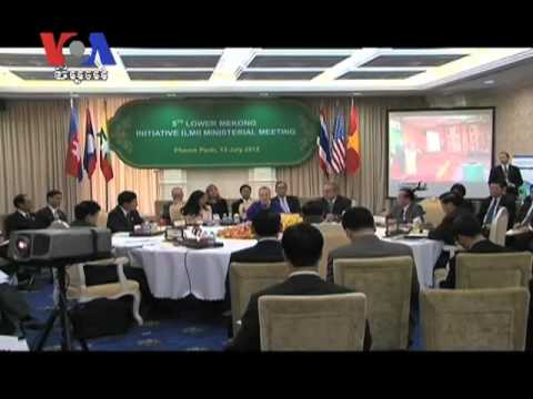 Lower Mekong Foreign Ministers Meet to Discuss US's Initiatives