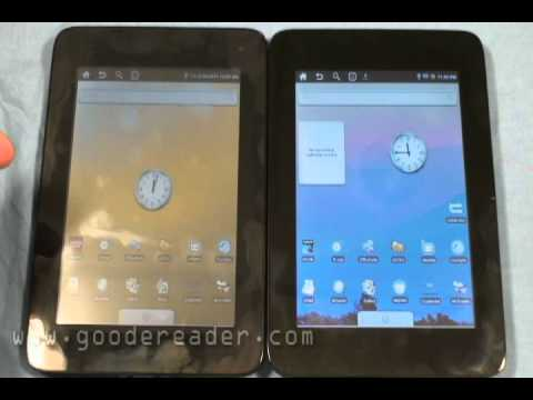 Velocity Micro Cruz Reader and Cruz Tablet T301 comparison