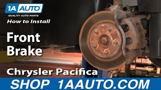 How To Install Replace Do a Front Brake Job Chrysler Pacifica 04-08 1AAuto.com