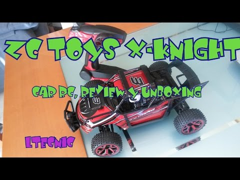 CAR RC, ZC TOYS RC333 GS04B X   KNIGHT, Coche Fantastico para iniciarse. Unboxing y Review