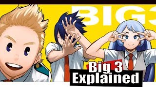 My Hero Academia - The Big Three Explained For Anime Fans
