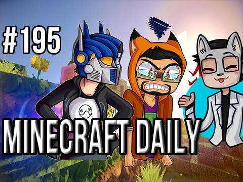 Minecraft Daily | Ep.195 | Ft. ImmortalHd and Steven | Our First New Dimension