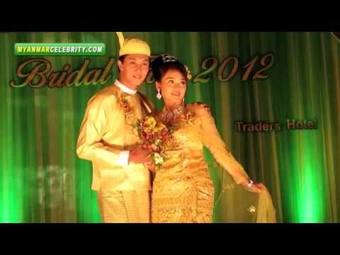Myanmar Wedding Fashion   Bridal Fair 2012 Yangon video