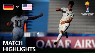 Germany v USA  - FIFA U-17 Women's World Cup 2018™ - Group C