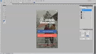How To Design A Mobile App Signup Screen In Adobe Photoshop VideoMp4Mp3.Com