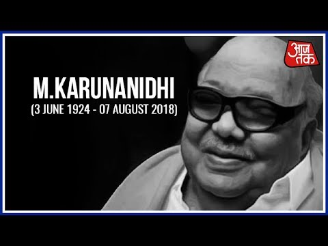 Kalaignar M. Karunanidhi Passes Away | Breaking News