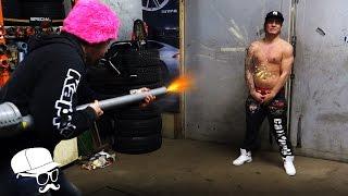 Potato Launcher VS Dumbass!