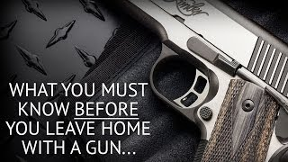 Top 10 Concealed Carry Mistakes, Don'ts, and Blunders