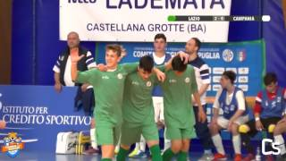 TDR 2017 - Allievi: Lazio - Campania, highlights