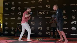 UFC 224: Vitor Belfort Open Workout Highlights - MMA Fighting