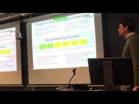 2016 5th Annual Cornell University Plant Breeding Symposium - Adam Famoso