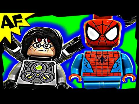 DOC OCK Ambush - Lego SPIDERMAN Superheroes Animated Building Review 6873