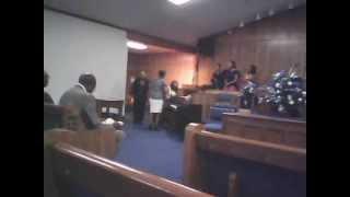 Rev Freeman singing I Still Have A Praise Inside of Me
