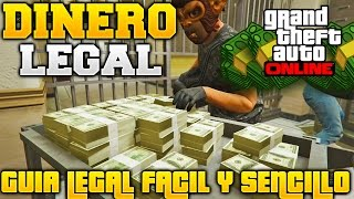 GTA V ONLINE DINERO LEGAL FACIL Y SENCILLO GUIA DE DINERO LEGAL PARA GTA 5 ONLINE