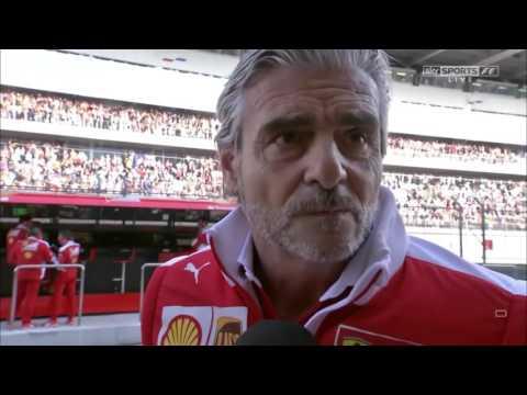 2016 Russia Post Race: Maurizio Arrivabene
