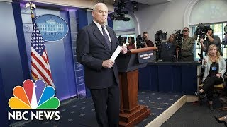Chief Of Staff General John Kelly Describes His Own Call About Son's Death In Afghanistan | NBC News