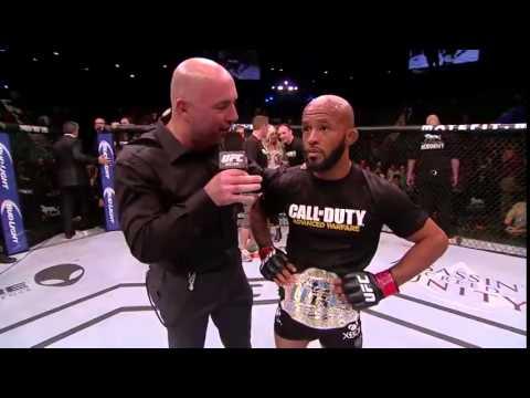 UFC 178 Demetrious Johnson Octagon Interview
