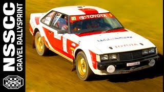 Classic Celica Rally Car at Volksmuller Rally Sprint