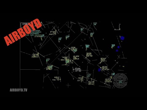N559DW full flight with radar overlay - Doug White King Air landing HD Video