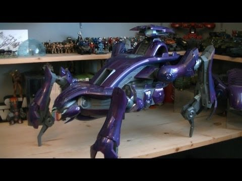 Halo ActionClix Scarab Vehicle Pack Review
