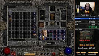 Diablo 2 LoD HC Any% Hell Paladin Speedrun - 6:09:35 [WR]