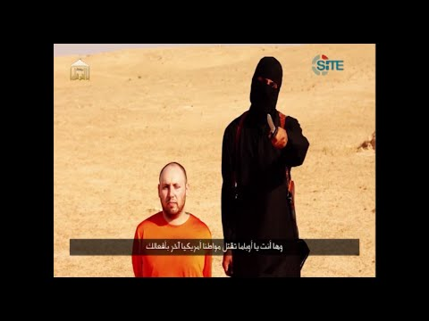 I'm back - 'British' jihadi's message to Obama before beheading Steven Sotloff