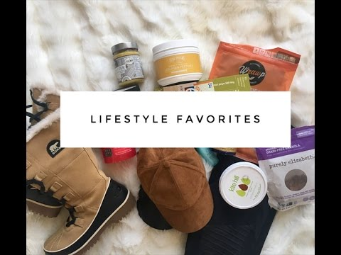 Lifestyle favorites!!! (healthy snacks, food, fashion, beauty...etc)