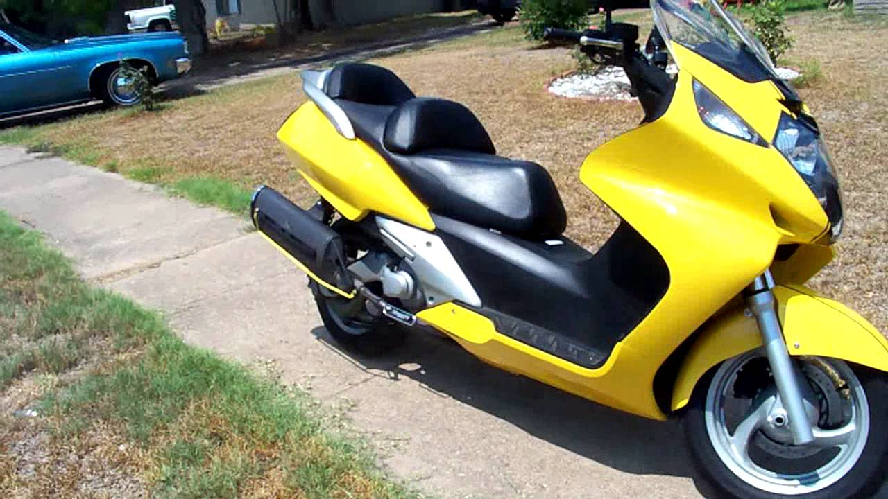 2003 Honda Silverwing (for sale as of 8/26/2011) - YouTube
