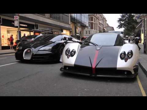 Pagani Zonda v Bugatti Veyron Supersport - Combos