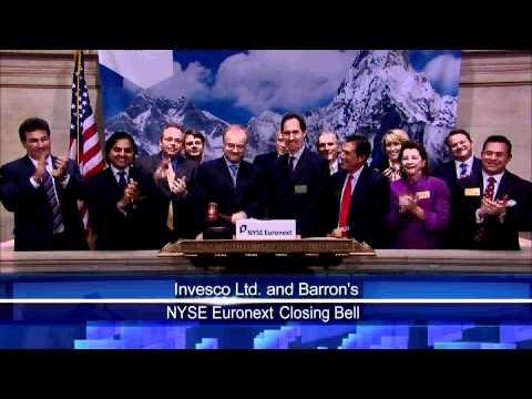 7 April 2011 Invesco ltd rang the NYSE Closing Bell