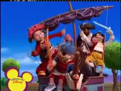 LazyTown - You are a Pirate al reves (Español castellano)