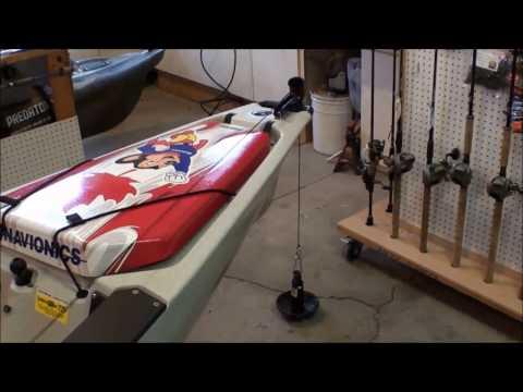 Anchoring - Power-Pole micro anchor, Anchor Wizard and anchor trolley installation