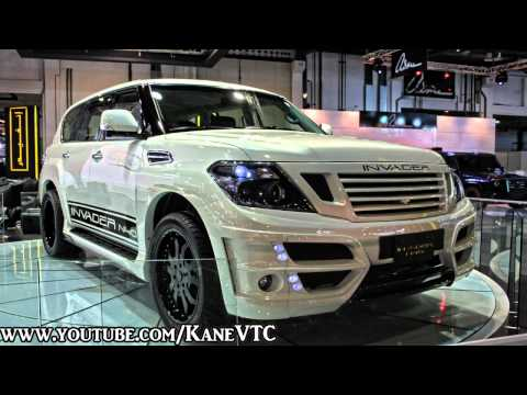 Nissan Patrol Y62 INVADER N40 In Dubai International Motor Show 2011