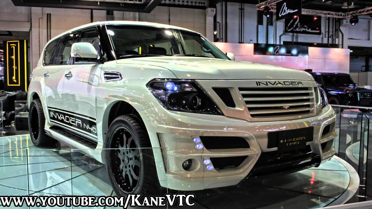 Nissan Patrol Y62 Invader N40 In Dubai International Motor