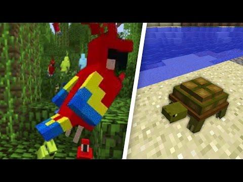 ТОП 5 САМЫХ ИНТЕРЕСНЫХ МОБОВ И ФУНКЦИЙ МАЙНКРАФТ 1.12 - Minecraft 1.12
