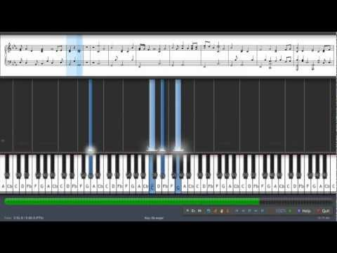 Naruto- Wind - Piano Tutorial video