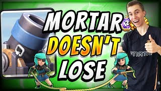 FREE TO PLAY! CURRENT BEST MORTAR DECK IN CLASH ROYALE!
