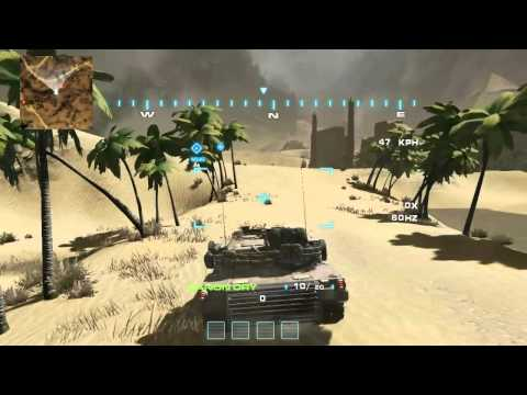 Modern Tank Battle Game Udk