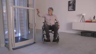 LiftonTRIO – Homelift für Rollstuhlfahrer